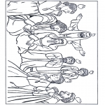 Dibujos de la Biblia - Pentecostés 1