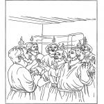 Dibujos de la Biblia - Pentecostés 2