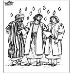 Dibujos de la Biblia - Pentecostés 3