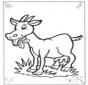 Pequeña cabra