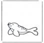 Pequeña foca