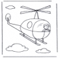 Pequeño helicóptero