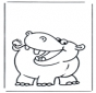 Pequeño hipopótamo 1