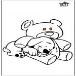 Animales - Perro y oso