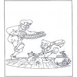 Personajes - Pinocho bailarín