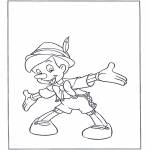 Diversos - Pinocho de madera