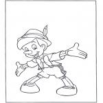 Personajes - Pinocho de pie