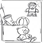 Dibujos Infantiles - Pinta el cuarto de juguetes 1