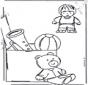 Pinta el cuarto de juguetes 1
