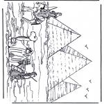 Diversos - Pirámides en Egipto