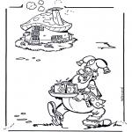 Dibujos Infantiles - Plop con bebidas