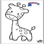 Animales - Primalac giraffe