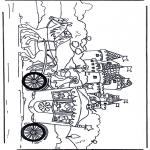 Diversos - Princesa en una carroza