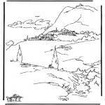 Láminas de la Biblia - Pueblo Bíblico