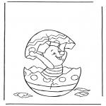 Personajes - Puerquito en un huevo de Pascua