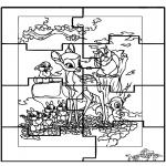 Manualidades - Puzzle Bambi