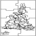Manualidades - Puzzle Bubu