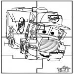 Manualidades - Puzzle Cars