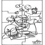 Manualidades - Puzzle de Ariel