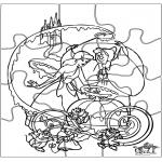 Manualidades - Puzzle de Cenicienta
