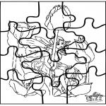 Manualidades - Puzzle de Elfo