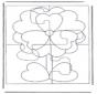 Puzzle de flor