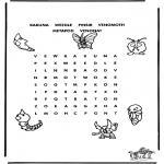 Manualidades - Puzzle de Pokemon 2