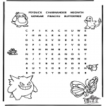 Manualidades - Puzzle de Pokemon 3