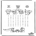 Manualidades - Puzzle de Pokemon 7