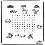 Manualidades - Puzzle de Pokemon 8