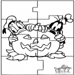 Manualidades - Puzzle Halloween