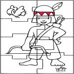 Manualidades - Puzzle India