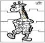 Puzzle jirafa