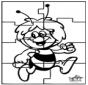 Puzzle - La abeja Maya