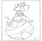 Ratón sobre la pelota