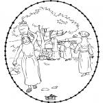 Dibujos de la Biblia - Rebecca 1