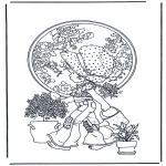 Diversos - Regando las plantas
