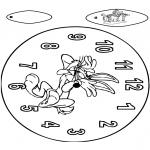 Manualidades - Reloj de Bugs Bunny