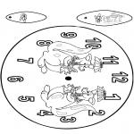 Manualidades - Reloj de canguro