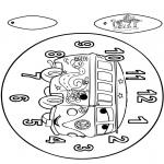 Manualidades - Reloj de Cars