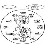 Manualidades - Reloj de koala