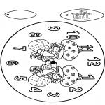 Manualidades - Reloj de Tarta de Fresa