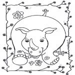Animales - Rinoceronte 2