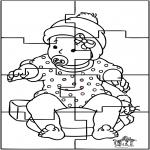 Temas - Rompecabezas del bebé 1