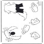 Dibujos Infantiles - Ropa de Elmo 2