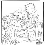 Láminas de la Biblia - Ruth 1