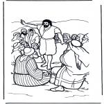 Láminas de la Biblia - San Juan Bautista