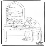 Dibujos de la Biblia - San Juán