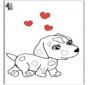 San Valentín - Perro