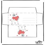 Manualidades - San Valentín Sobre 3